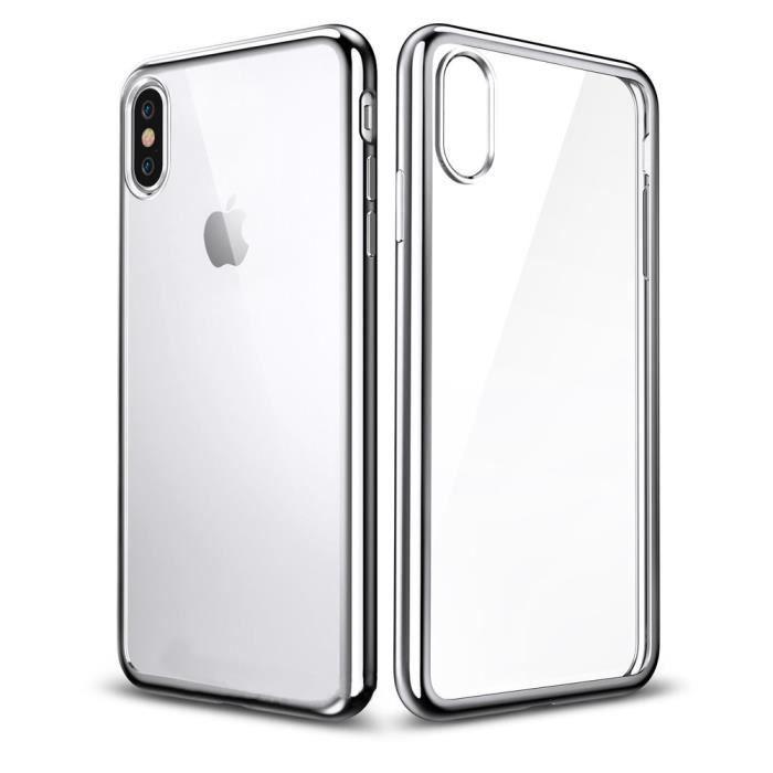 coque apple iphone x iphone 10 transparent clair