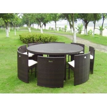 salon de jardin repas 6 couverts encastrable ta achat vente salon de jardin salon de. Black Bedroom Furniture Sets. Home Design Ideas
