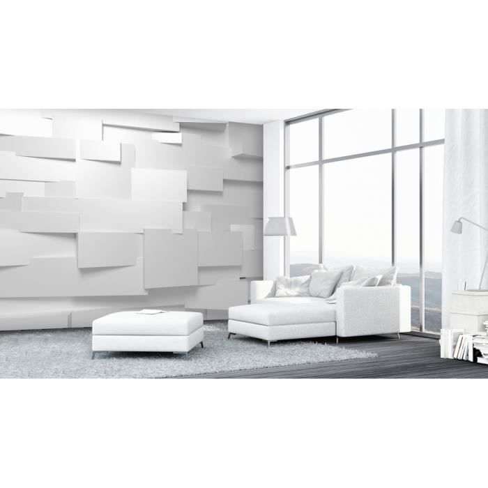 photo papier peint wall mural grand format 366x254 cm art et tendance noir et blanc ange. Black Bedroom Furniture Sets. Home Design Ideas