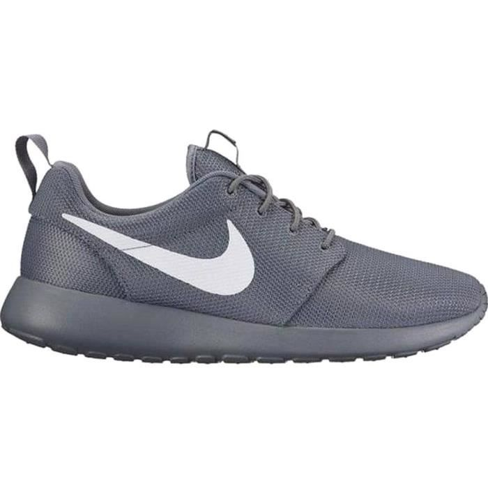 Nike rosh one blanc gris taille 44 neuf