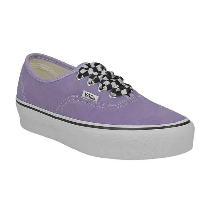 chaussures vans mauve