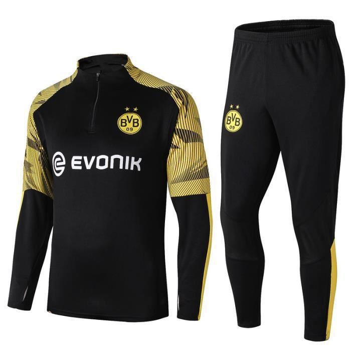 0 /à 24 Mois Noir Noir gar/çon Borussia Dortmund Body B/éb/é