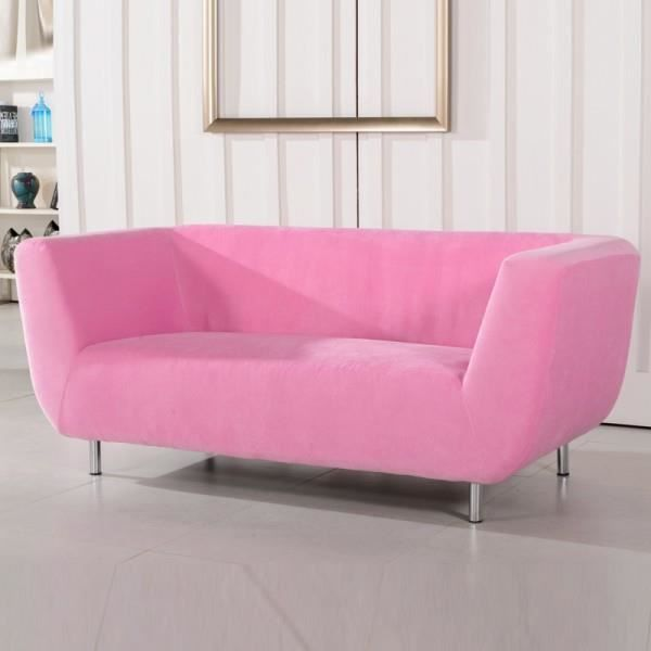 canap ufo 3 places rose drag e achat vente canap sofa divan bois panneaux de. Black Bedroom Furniture Sets. Home Design Ideas