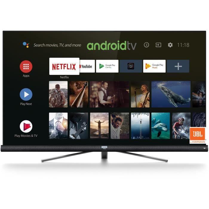 """Téléviseur LED TCL 55DC760 TV LED - 4K UHD - 55""""(139,7cm) - HDR P"""