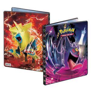 CARTE A COLLECTIONNER Pokemon : Pack cahier range-cartes + Booster Pokém