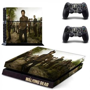 STICKER - SKIN CONSOLE Version DPTM0484 - The Walking Dead Ps4 Décalque D