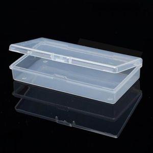 2Pcs Scellé Boîte Antichocs Étanche en Plastique Petites Boîtes Pratique