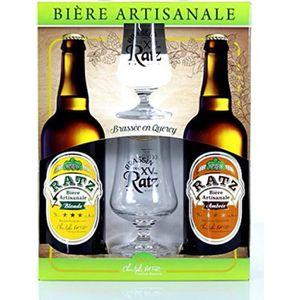 COFFRET CADEAU GOURMAND Coffret Bières Artisanales - Coffret 2 Bières 75cl