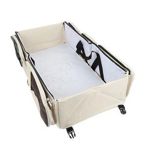 SAC À LANGER AG Crème Sac à langer lit bébé de voyage Pliable B