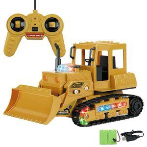 VOITURE ELECTRIQUE ENFANT Pelle 1:24 RC 4 canaux Tracteur camion Digger voit