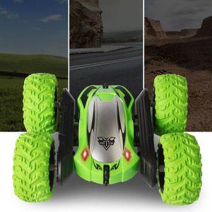 VOITURE - CAMION Enfants 360 ° Rotation Stunt modèle de voiture RC