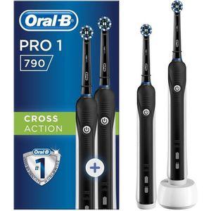 BROSSE A DENTS ÉLEC Brosse à dents électrique Oral-B Pro 790 - Lot de