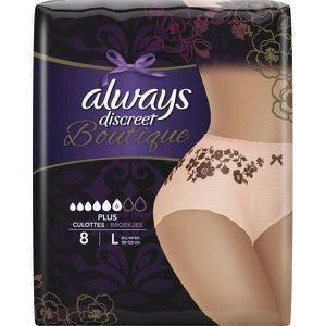 FUITES URINAIRES Culottes pour fuites urinaires ALWAYS DISCREET Bou