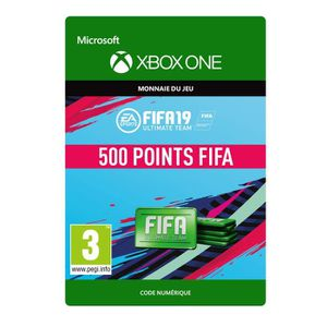 EXTENSION - CODE DLC FIFA 19 Ultimate Team : 500 pts pour Xbox One