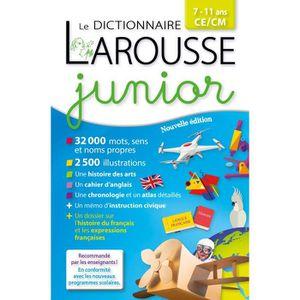 DICTIONNAIRES Larousse dictionnaire Junior 7/11 ans Relié – 8 ju