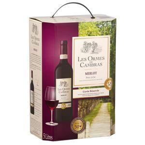VIN ROUGE Les Ormes de Cambras 2016 Merlot - Vin rouge du La