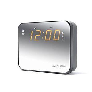 Radio réveil MUSE M-165 CMR Radio réveil - double alarme - 20 s