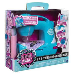 JEU DE MODE - COUTURE - STYLISME SEW COOL Machine à Coudre Enfant Spinmaster