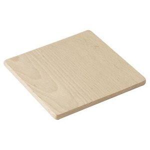 DESSOUS DE PLAT  Dessous de plat 15x15 cm en bois de hêtre 6515167
