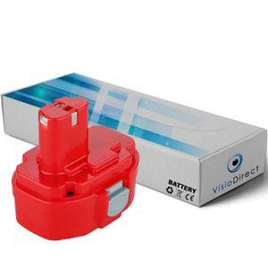 BATTERIE MACHINE OUTIL Batterie pour MAKITA 6934FDWDE Boulonneuse à chocs