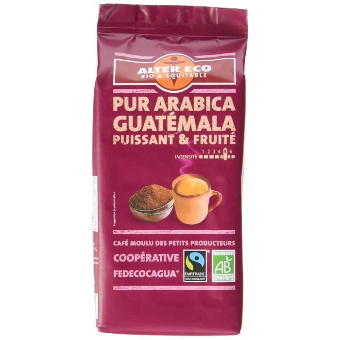 Alter Eco Cafe Guatemala 100% Arabica - Lot de 3