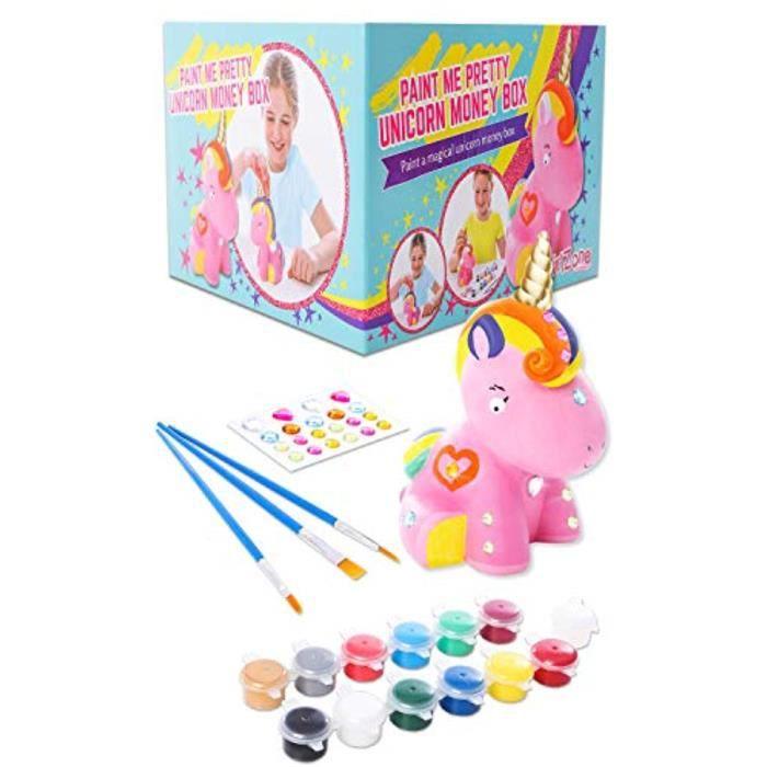Jeu De Coloriage V7MKH : Paint Your Own Unicorn Money Box for