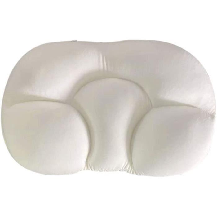 Oreiller de Sommeil Rapide, Oreiller esthétique de Sommeil de Nuage Complet, s'adapte à l'oreiller Ergonomique en Mousse à mémoire