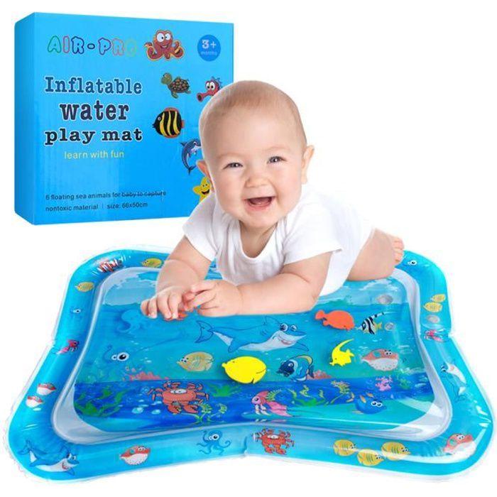 Swonuk® Tapis d'eau Gonflable de bébé Centre de Jeu d'activité d'enfant Dessin océan
