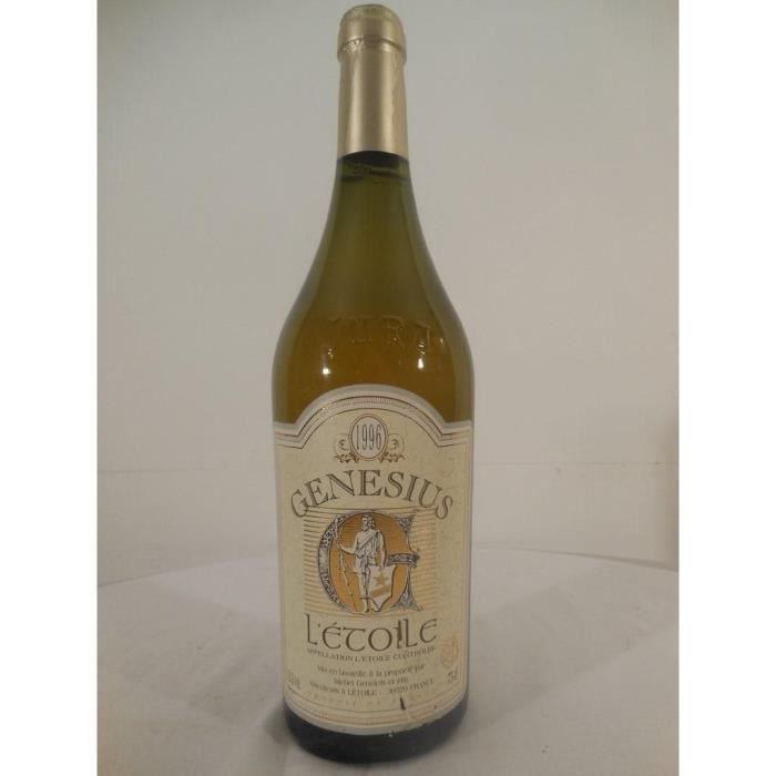 l'étoile domaine geneletti genesius blanc 1996 - jura france