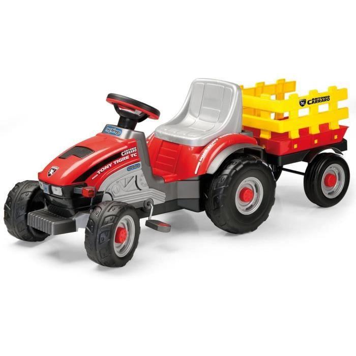 VOITURE ELECTRIQUE Peg Perego Tracteur à p&eacutedales Mini Tony, Tigre206