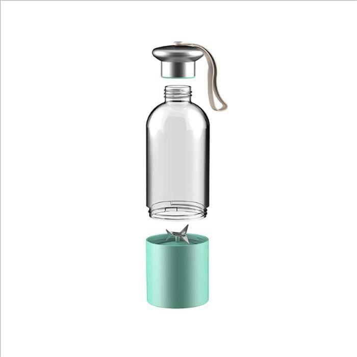 Mini USB Juicer Blender Portable 400-530ml pour Voyage Smoothies et Milk Shakes Mixeur sans BPA USB Recharge Super Facile &agrav856