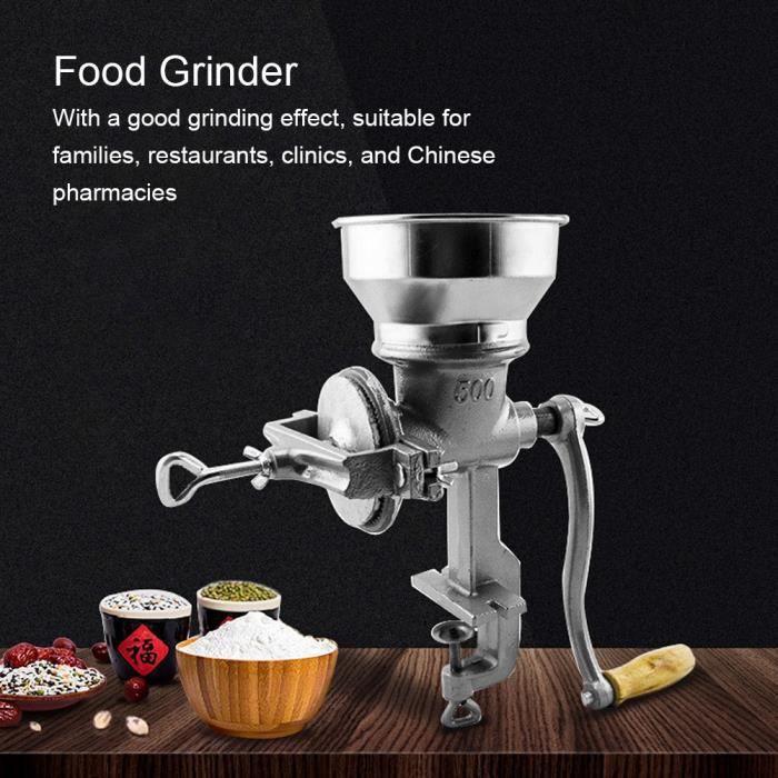ART☪Moulin à Nourriture Manuel Ménage Machine à Meulage d'Herbe de Grain Ustensiles de Cuisine☪Lv.life☪NIM