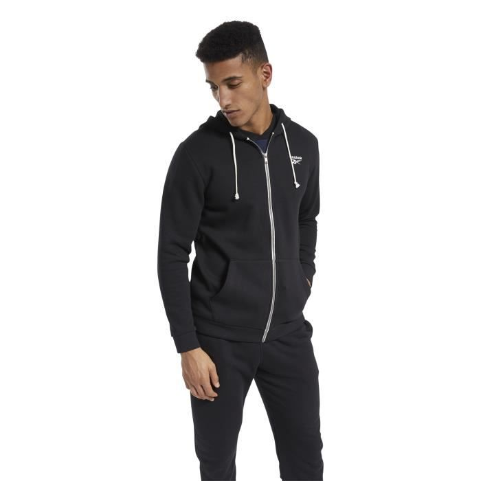 Sweat à capuche Reebok Training Essentials Fleece Zip Up