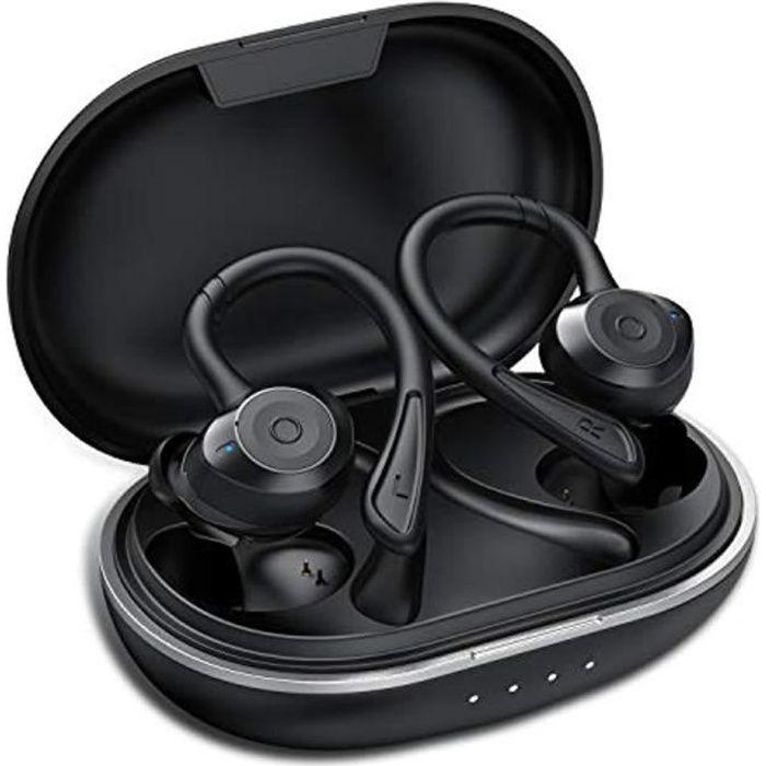 Ecouteur Bluetooth - IPX7 Écouteur sans Fil Sport Étanche 3D Hi-FI
