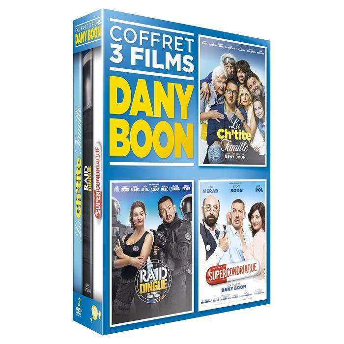 Dany Boon Coffret 3 Films - La Ch'tite Famille + Raid Dingue + Supercondriaque