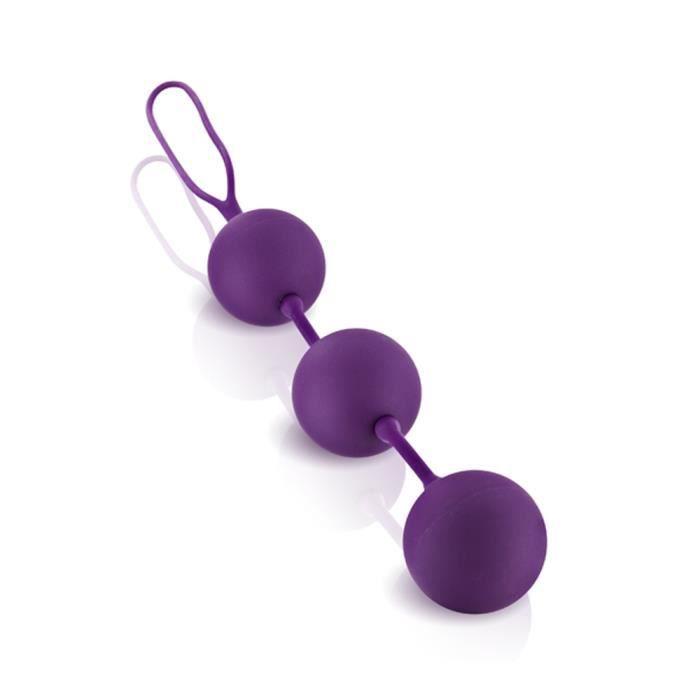 Boules de geisha anales violet