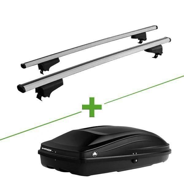 Pack barres et coffre de toit WABB WABB Rail XL + Wabb S pour Renault Koleos 5 portes - 3666028624849