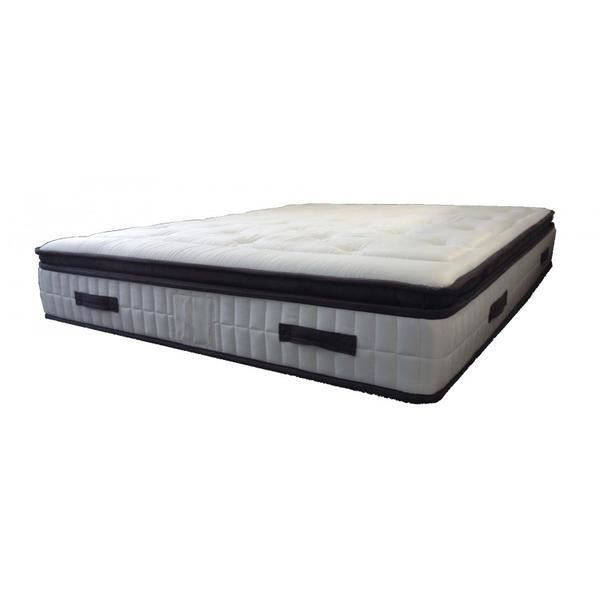 matelas ressorts ensach s luxe 140x190 cm 28 cm achat vente matelas cdiscount. Black Bedroom Furniture Sets. Home Design Ideas