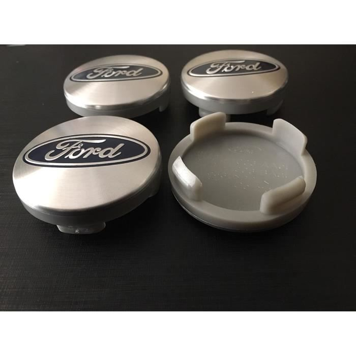 Born/ 1 Lot de 4/ cache-moyeux de 55/ mm Aspect carbone