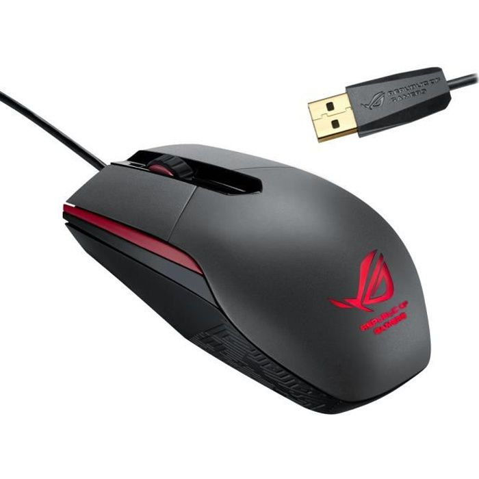 asus souris gaming filaire rog sica prix pas cher cdiscount. Black Bedroom Furniture Sets. Home Design Ideas