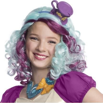 Briar Beauty Ever After High Childs Wig with Headpiece