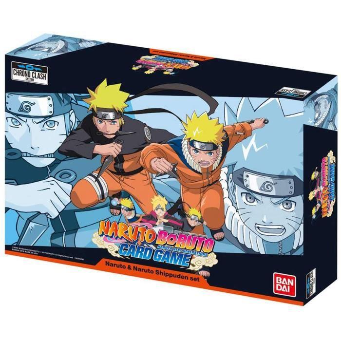 Naruto Shippuden 16-bit Retro Ninja Bleu Portefeuille