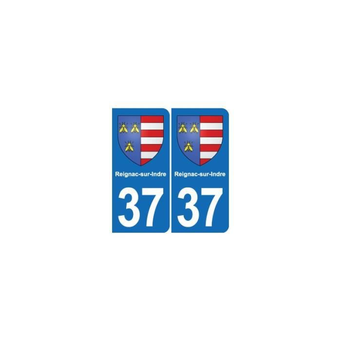 Hearty 74 Haute-savoie Departement Immatriculation 2 X Autocollants Sticker Autos Automobilia