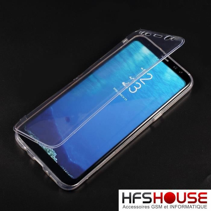 coque s8 transparent samsung