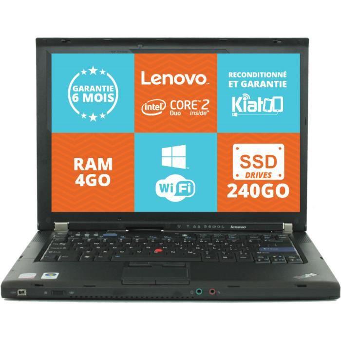 ORDINATEUR PORTABLE Ordinateur portable 15 pouces LENOVO ThinkPad R500