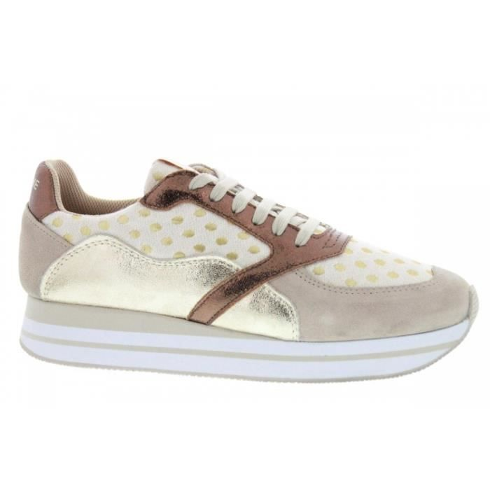 Baskets mode - No Name Eden Street Split Mary (Beige) Ivory Dove