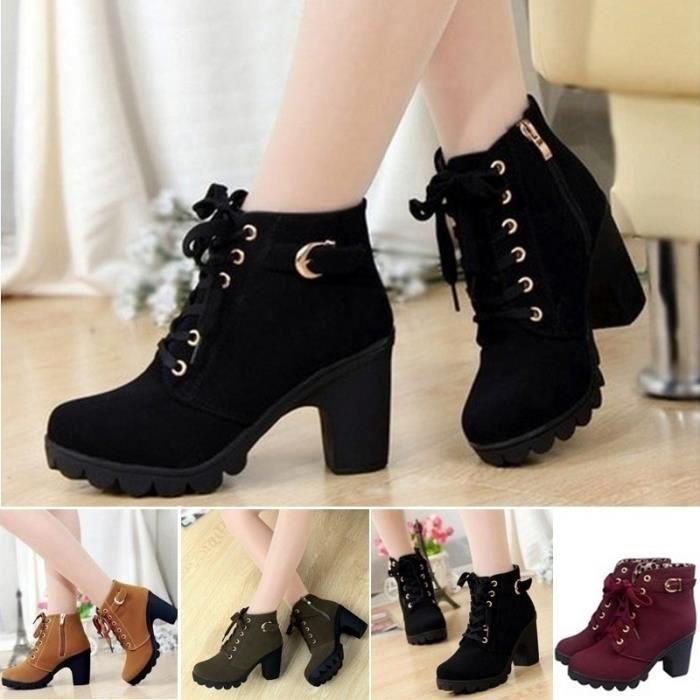unique haut Plateforme Femmes Femmes talon Chaussures 0nPkwO8
