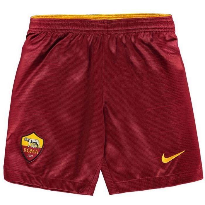 SHORT DE FOOTBALL Short Officiel Nike Garcon AS Rome Domicile Saison