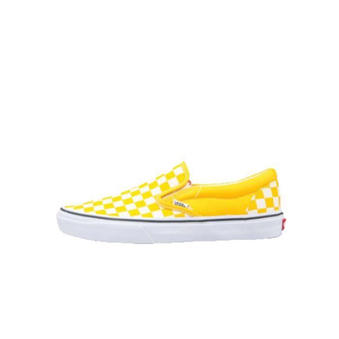 chaussure vans jaune