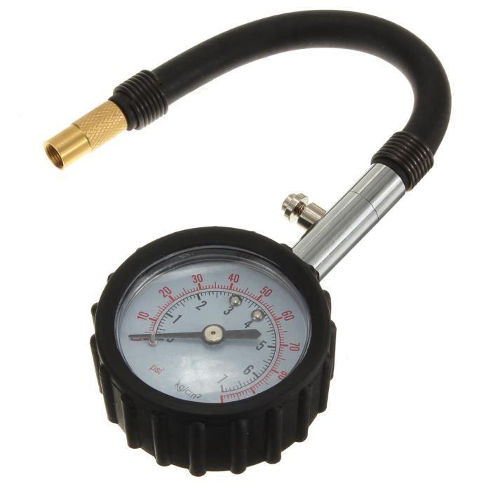 Manom/ètre contr/ôle pression des pneus auto moto voiture PSI